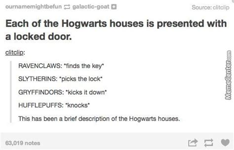 hogwarts house descriptions hogwarts house description by drpotterprepper meme center