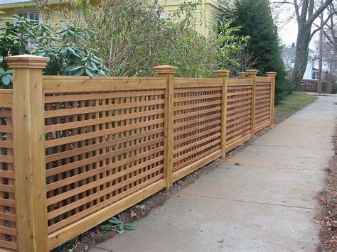 wood fences wood fence