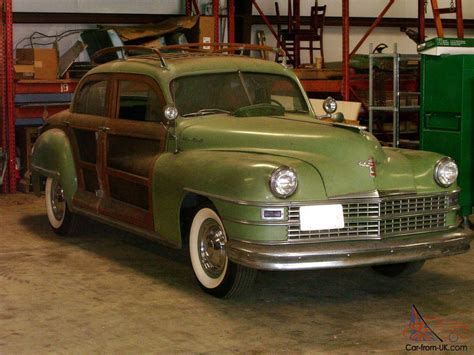 1947 Chrysler Town And Country by 1947 Chrysler Town And Country Woody Sedan
