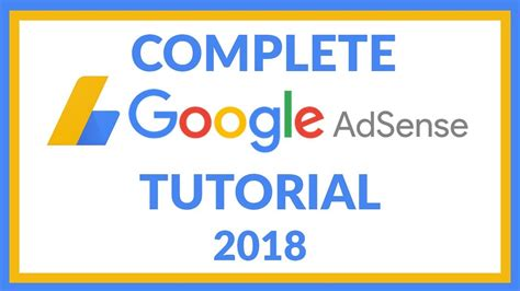 Google Adsense Complete Video Tutorial | how to setup google adsense complete google adsense