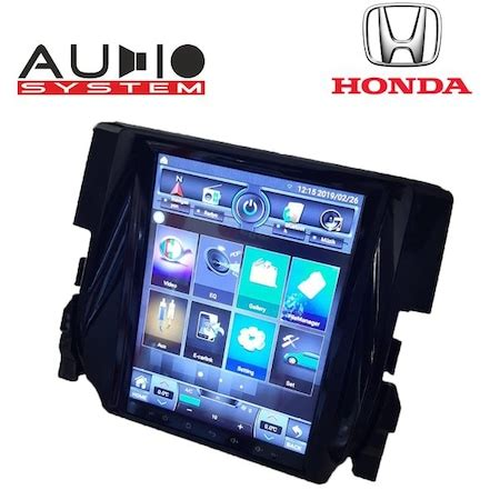 honda civic fc  android tesla model gb multimedia