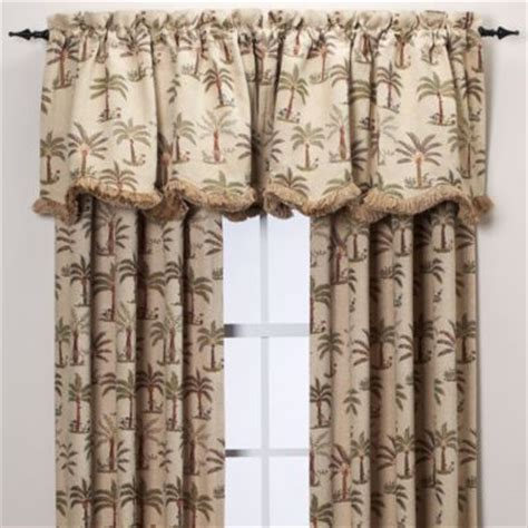 palm tree kitchen curtains buy palm tree curtains from bed bath beyond