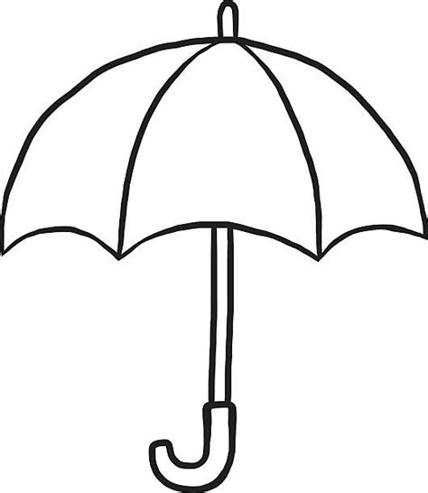 clipart umbrella black and white royalty free black and white umbrella clip art vector