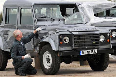 range rover truck in skyfall land rover defender stars in new james bond film skyfall