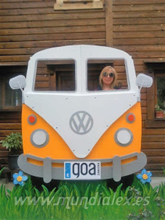 furgoneta hippie decoracion mundialex bricolaje y decoraci 243 n furgoneta volkswagen