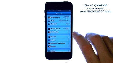 apple iphone 5 ios 6 how do i connect to wifi