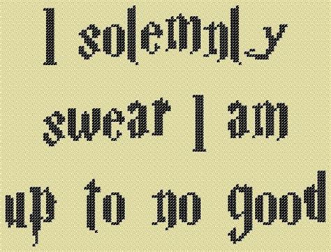 c regex pattern with quotes cross stitch pattern harry potter marauders map quote