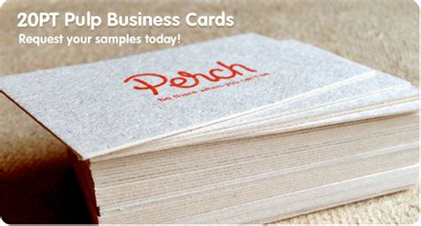 Pulp Business Cards from Jukeboxprint.com   Available in