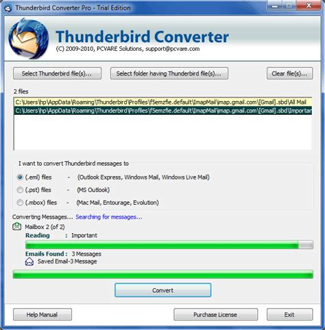 Thunderbird Email Search Eml Message Viewer Thunderbird Software Import Eml Files Into Thunderbird