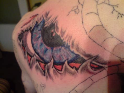evil tattoo evil eye
