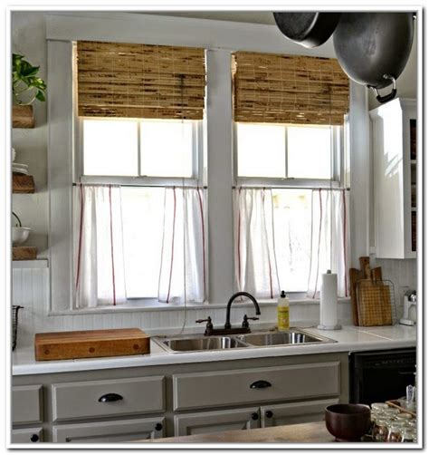 linens kitchen curtains beautiful linen caf 233 curtains for windows homesfeed