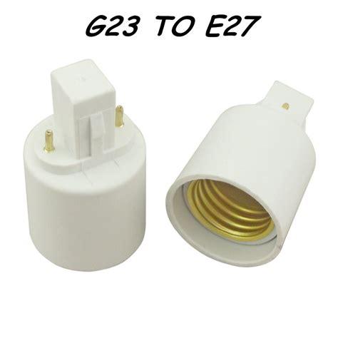G23 Sockel by G23 Auf E27 Lenhalter Konverter G23 Sockel Basis F 252 R Led Halogen Cfl Gl 252 Hbirne Le Adapter