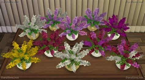 Set Flower 4 dara sims flower set 2 sims 4 downloads