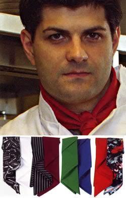 Ainy Navy V neckers how to tie a chef s neckerchief