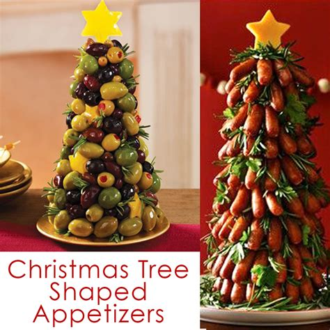 amazing christmas tree shaped appetizers