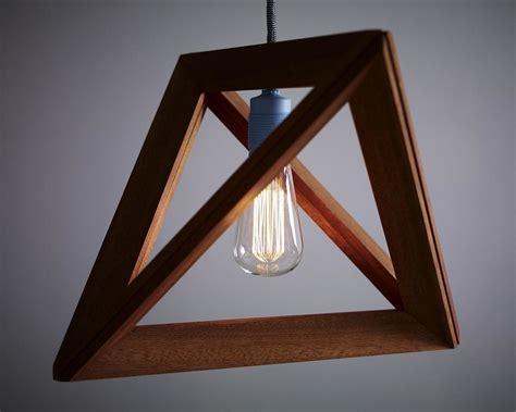 Led Interior Home Lights lightframe wooden pendant lamp by herr mandel design is
