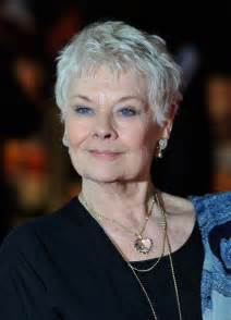 judy dench hairstyle front and back judy dench hairstyle front and back of head short