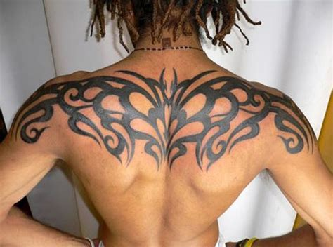 upper back tribal tattoos for men 52 most eye catching tribal tattoos