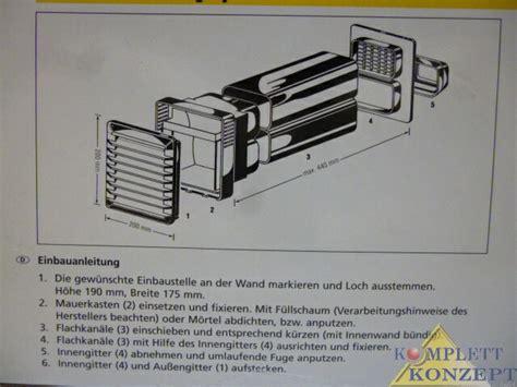 duo abluft und zuluftsystem klimaanlage und heizung zu hause - Abluftsystem Küche