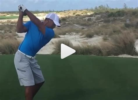 new golf swing tiger reveals new swing haney finds imm golfmagic