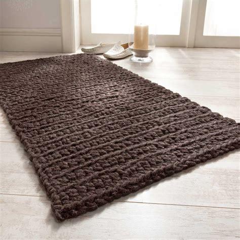 junghans teppiche zum selberkn pfen dunkelbraun