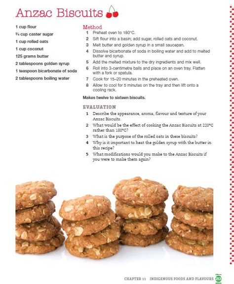 printable biscuit recipes 17 best images about australia day for kids on pinterest
