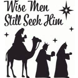 Deer Hunting Christmas Ornaments - silhouette design store view design 52185 wise men still seek him christmas nativity