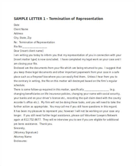 Contract Letter Writing Exles cancellation letter to client 28 images sle