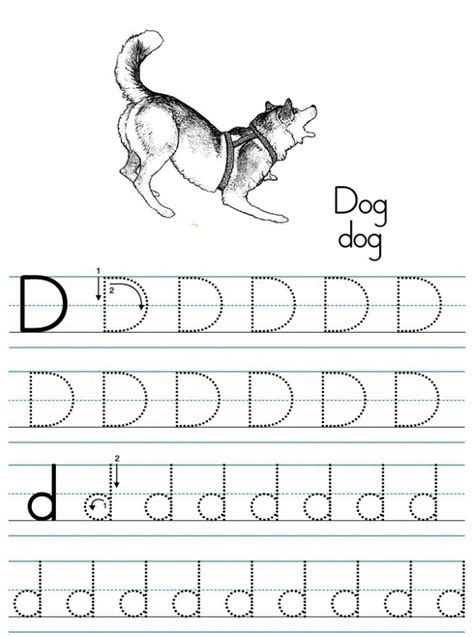 free printable worksheets for kindergarten letter d free printable letter d worksheets for kindergarten