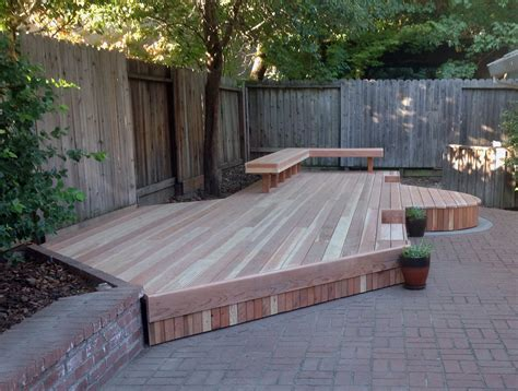 Decking Patio by Redwood Deck Makeover Featured On Day