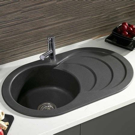 black kitchen sinks uk astracast cascade 1 bowl italian black composite sink