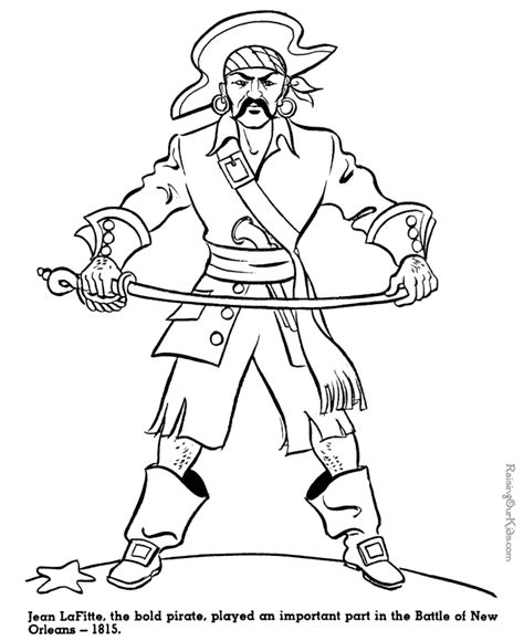Pirate Coloring Pages For Kids Coloring Home Pirate Coloring Pages For Coloring Home