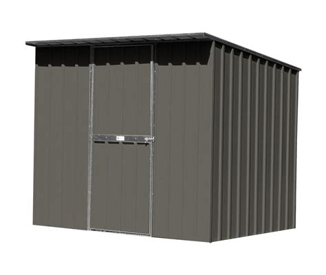 easyshed    flat roof colour garden shed storage