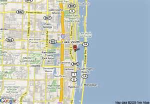 lake worth florida map map of new sun gate motel lake worth