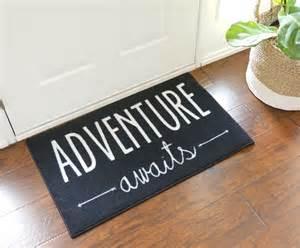 adventure awaits door mat floormatshop commercial