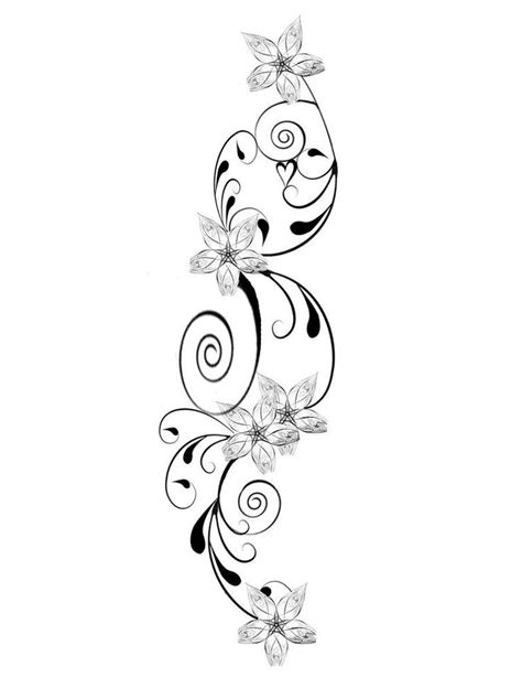 tattoo font design jasmine flower 25 best images about flower tattoos on