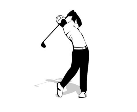 free golf swing videos golf back swing vector silhouette welovesolo