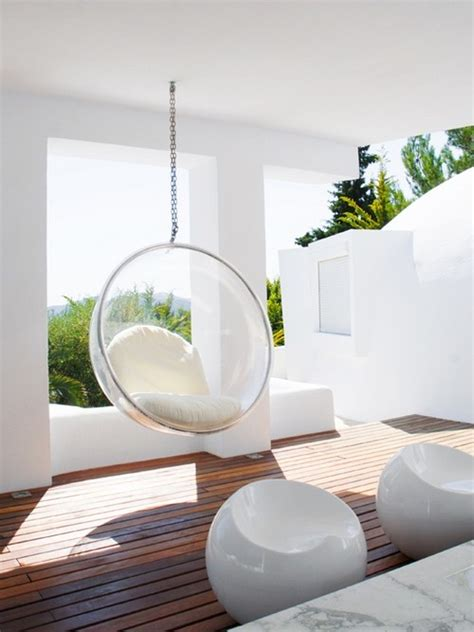 interior designs hanging bubble chair messagenote