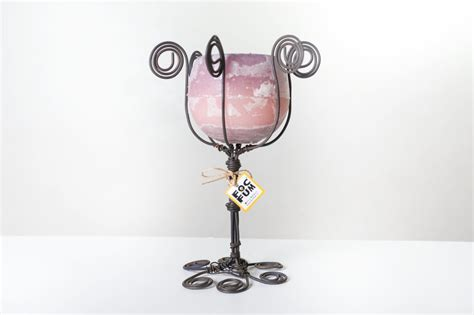 Wax Candle Chandelier Wire Chandelier With Scented Wax Candle Holder Figs Fragrance