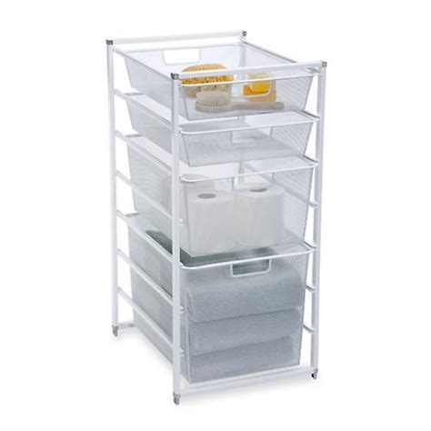 mesh closet drawers white cabinet sized elfa mesh drawers the container
