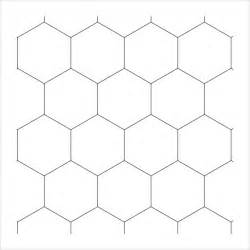 Hexagonal Template by Sle Hexagonal Graph Paper 7 Documents In Pdf Word Psd