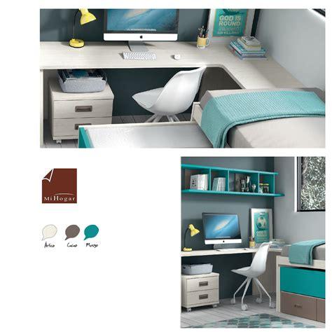 Camas Abatibles Con Sofa #10: Mesa-estudio-esquina-dormitorios-juveniles-low-mueblesmihogar.jpg