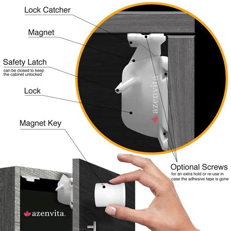 safety baby magnetic cabinet locks child safety magnetic cabinet locks kaboutjie