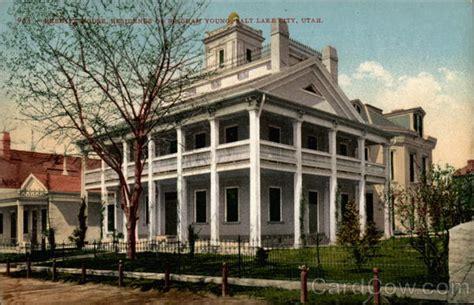 Beehive House by Beehive House Residence Of Brigham Salt Lake City Ut