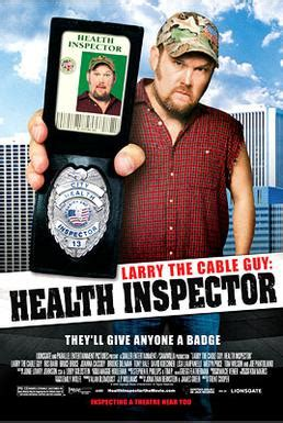 larry the cable guy: health inspector wikipedia