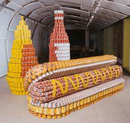 Canstruction Ideas by Canstruction Chew On That