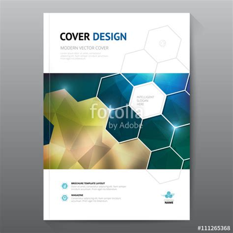 book report title quot blue annual report leaflet brochure flyer template a4