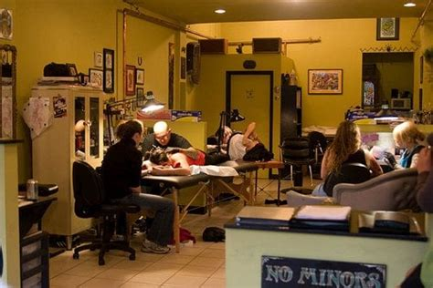 tattoo shop parlour interior studio design gallery best