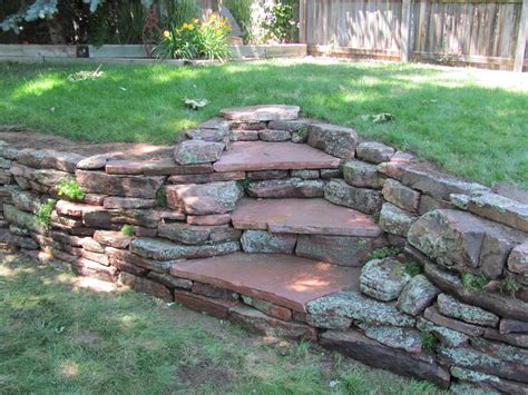 Rock Garden Wall Stonework And Hardscapes Glacier View Landscape And Design Inc