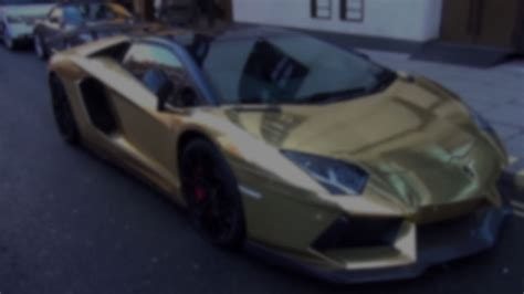 Money Cant Buy You Taste The Gold Blackberry by Gold Wrapped Lamborghini Uncrate